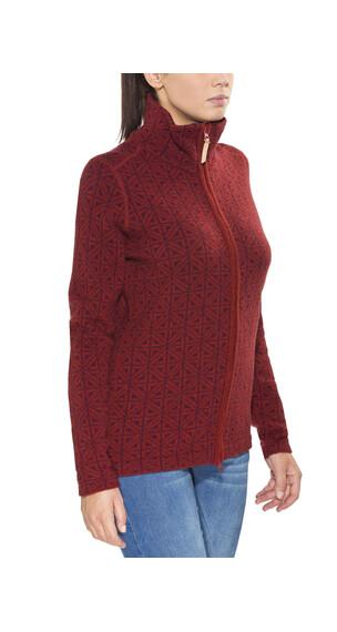 Fjällräven Övik - Sweat-shirt Femme - rouge